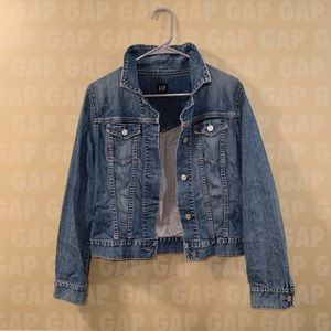 Icon Denim Jacket in Saddle Blue